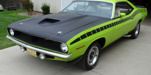 On the road with Auto Appraisal Network- Detroit-Check out this Candy Apple Green 1970 Barracuda